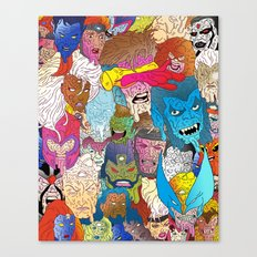 Mutated Mutants Canvas Print