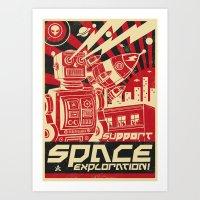 propaganda Art Prints featuring Propaganda by Venus Fallen