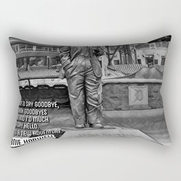 Baseball Announcers Rectangular Pillow