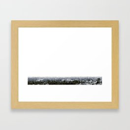 haze Framed Art Print