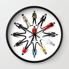 King MJ Pop Music Fashion LV Wall Clock