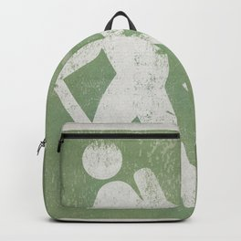 Hiker Sign Camp Campground Tent Backpack