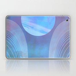 Blue Portal Laptop & iPad Skin