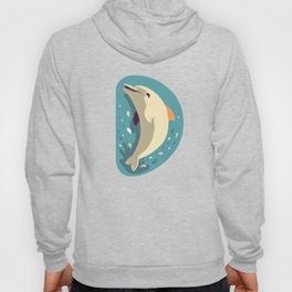 D for Dolphin Hoody