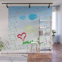 Childhood Wall Mural