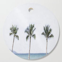 Palm trees 6 Cutting Board