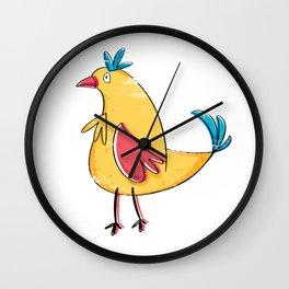 Chicken Little Chick Wall Clock