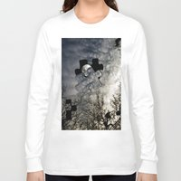 surrealism Long Sleeve T-shirts featuring Sky Surrealism. by Jess Noelle