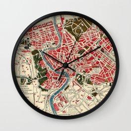 Where in Rome Wall Clock