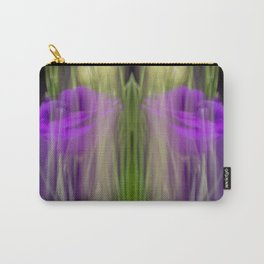 Fleur Blur-Abstract Purple Flower Photo Carry-All Pouch
