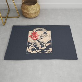 Japanese Sea Dragon Rug