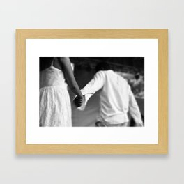 Amor (Love) Framed Art Print