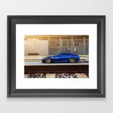 Ferrari 599 GTB Framed Art Print