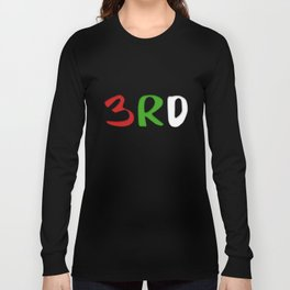 3RD Collection Long Sleeve T-shirt