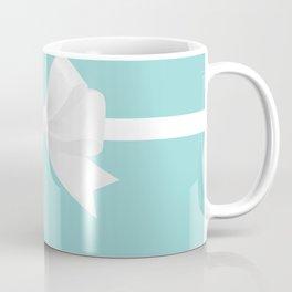 Turquoise & White Bow Coffee Mug