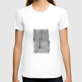Abstract Watercolor Painting Black and White Wall Art Print Scandinavian Ink Living Room Decor T-shirt