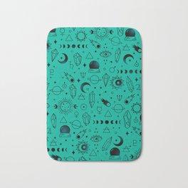 Crystal Pattern Bath Mat