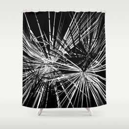 Shatter Shower Curtain