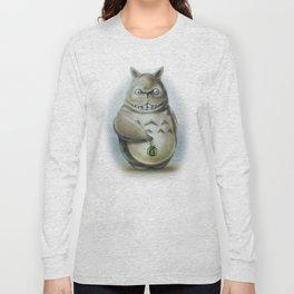 Miyazaki's Totoro - Totoros communis domestica Long Sleeve T-shirt