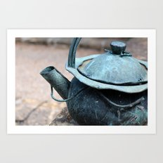 Tea Time, anyone? Art Print