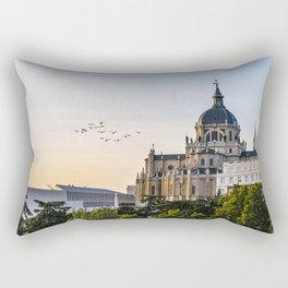 Almudena cathedral of Madrid Rectangular Pillow