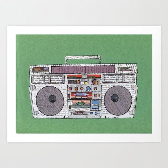 paper jams Art Print