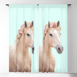 PALOMINO HORSE Blackout Curtain