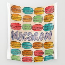 Macaron NOT Macaroon Wall Tapestry