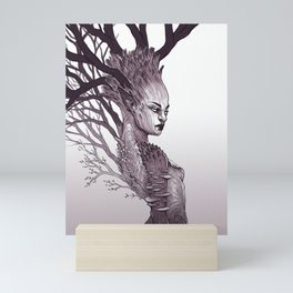 Tree Spirit - Dryad Queen Mini Art Print