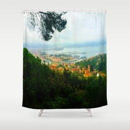La Spezia, Italy City Panorama Shower Curtain