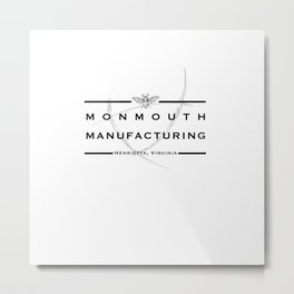 Monmouth Manufacturing Metal Print