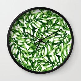 MONSTEARA obliqua Wall Clock