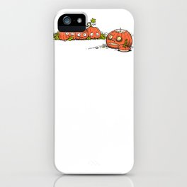 Ghoulish Gourd iPhone Case