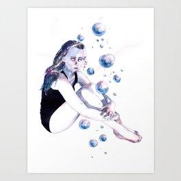 Little universes. Art Print