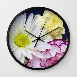 Perky Posies Wall Clock