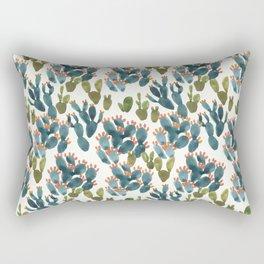 Nopal Cactus Field Rectangular Pillow