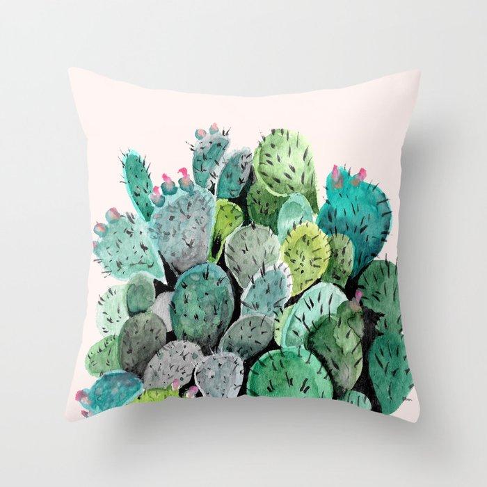Desert Princess Throw Pillow