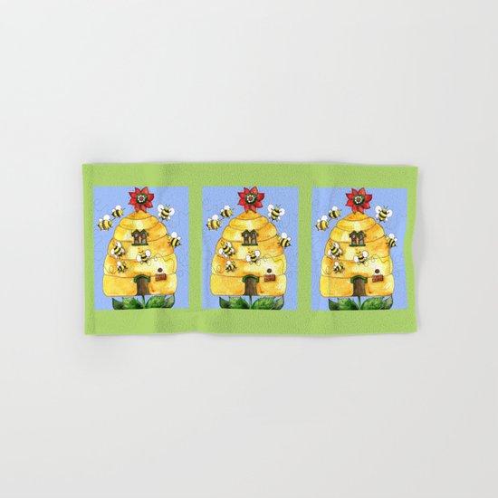 Busy Bees Hand & Bath Towel