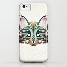 blue cat  Slim Case iPhone 5c