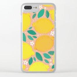 Meyer Lemons Clear iPhone Case