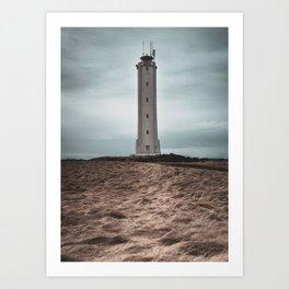 The Malariff Lighthouse Art Print