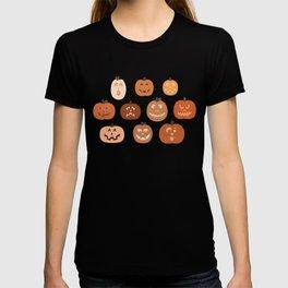 jack o' lanterns. T-shirt