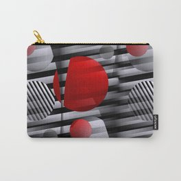 3D - abstraction -38- Carry-All Pouch