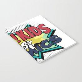 HEY!! KIDS COMICS Notebook