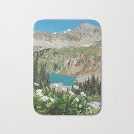 The Blue Lakes of Colorado Bath Mat