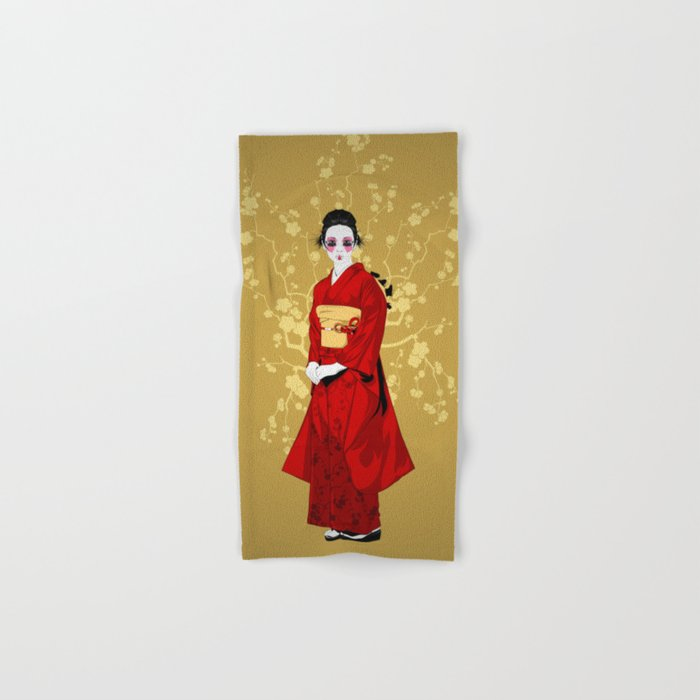Geisha R Hand & Bath Towel