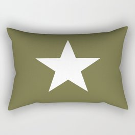 Army Star Rectangular Pillow