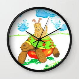 River Stop Wall Clock
