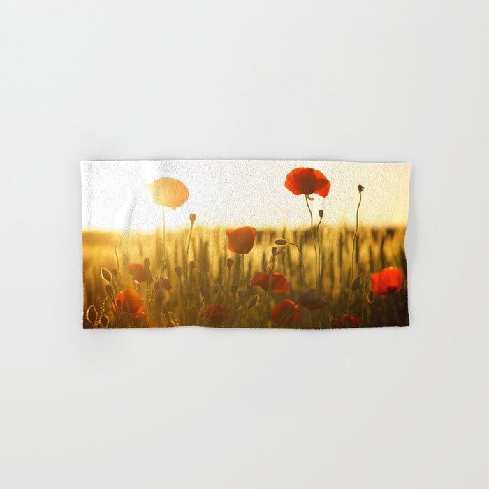 Sunset tulipe Hand & Bath Towel