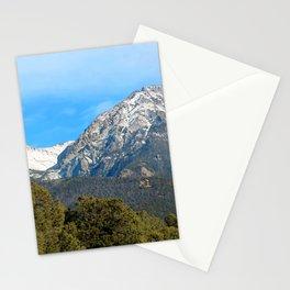 Watercolor Landscape, North Crestone Trail 01, Colorado Stationery Cards